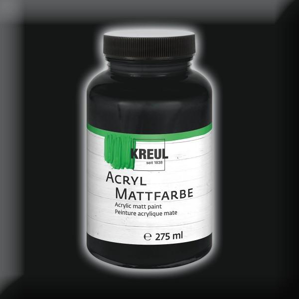 Acryl-Mattfarbe 50ml schwarz