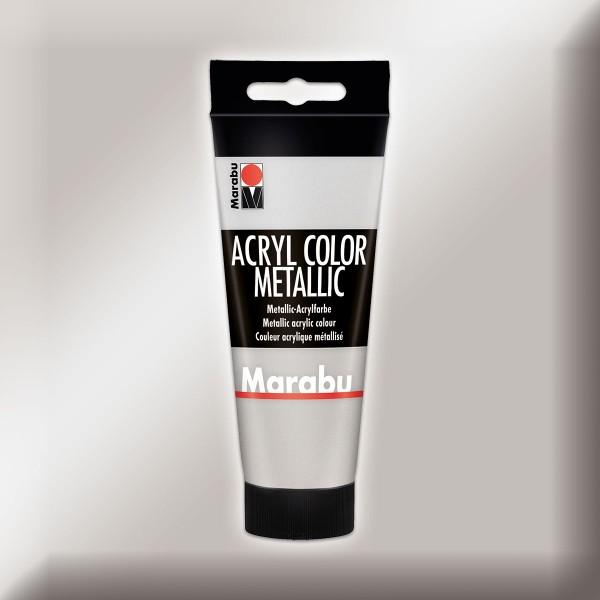 Marabu Acryl Color 100ml silberfarben