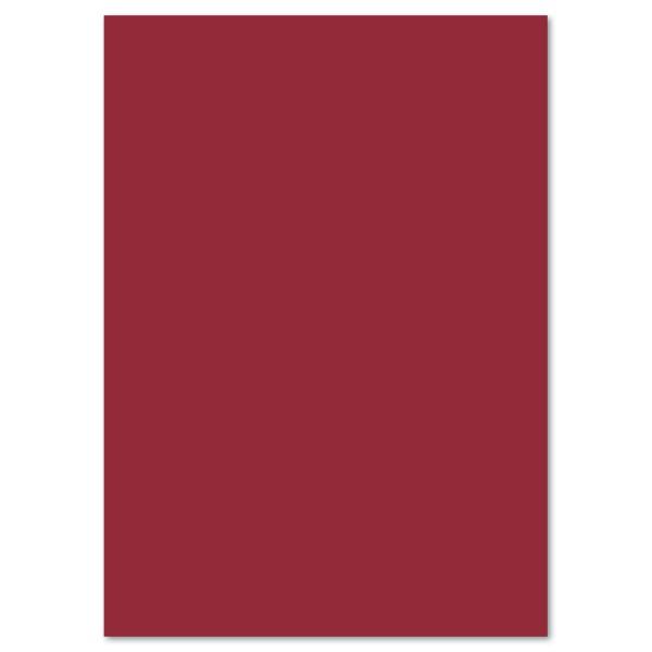 Tonkarton 220g/m² 50x70cm 25 Bl. dunkelrot