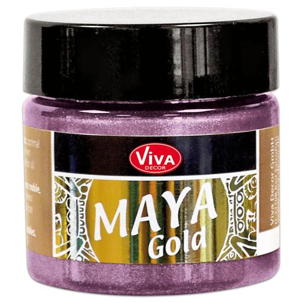 Maya-Gold Dekorfarbe flüssig 45ml rosé