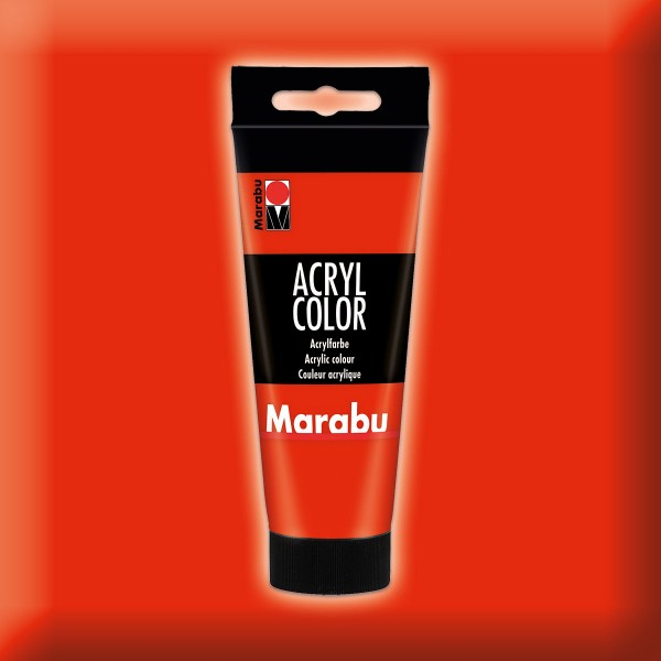 Marabu Acryl Color 100ml zinnoberrot