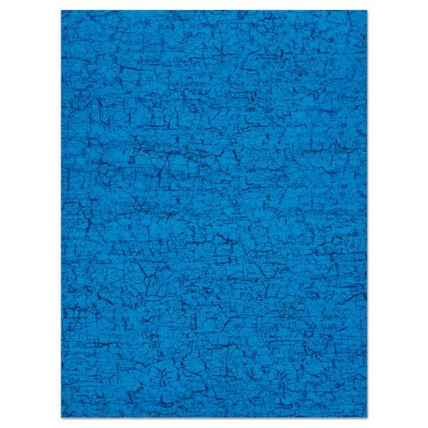 Decoupagepapier blau von Décopatch, 30x40cm, 20g/m²