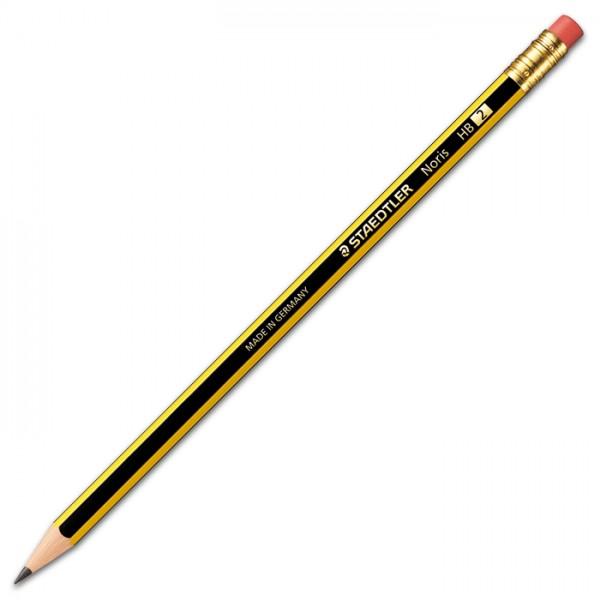 Noris 122 Mine 2mm Bleistift mit Radiertip HB mittel