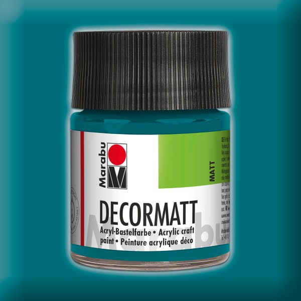 Decorlack Acryl matt 50ml türkis