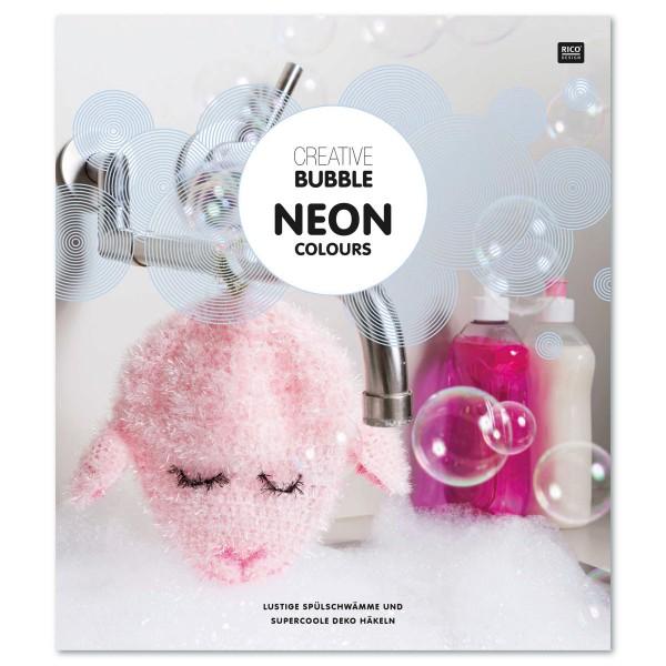 Buch - Creative Bubble Anleitung Neon Colours 16 Seiten, 20,8x23,9cm, Softcover