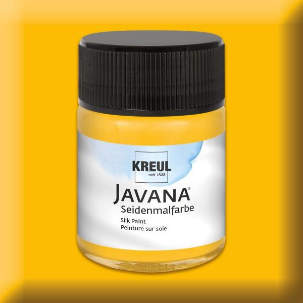 Javana Seidenmalfarbe 50ml maisgelb