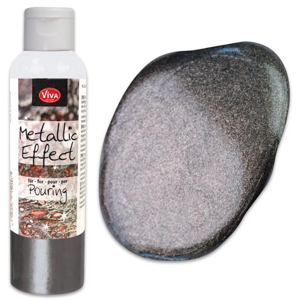 Metallic Effect für Pouring 120ml stahl Metallic-Farbe
