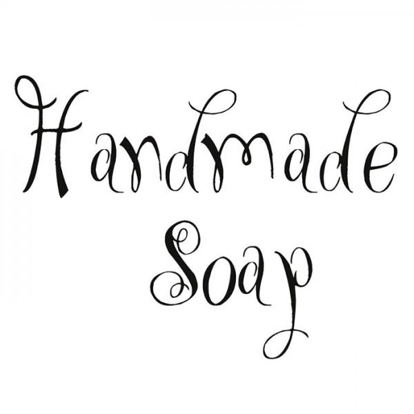 Reliefeinlage 40x40mm Kunststoff Handmade Soap