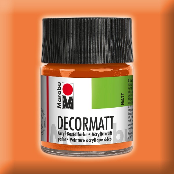 Decorlack Acryl matt 50ml orange