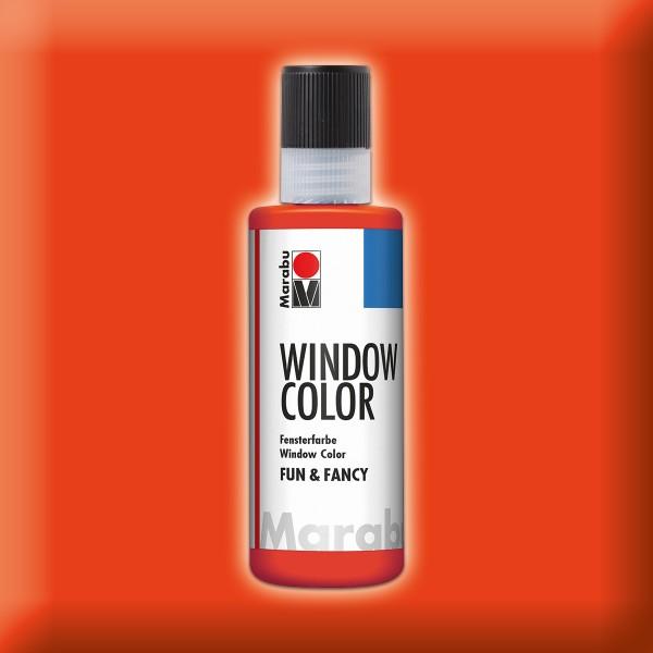 Marabu fun&fancy 80ml korallenrot Windowcolor