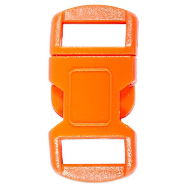 Steckverschluss Kunststoff 15x30mm orange