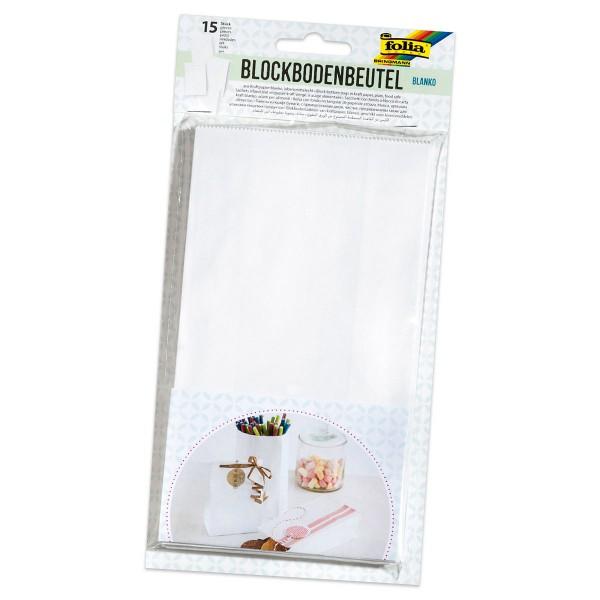 Krepp-Papier 32g/m² 0,5x2,5m weiß Bastelkrepp