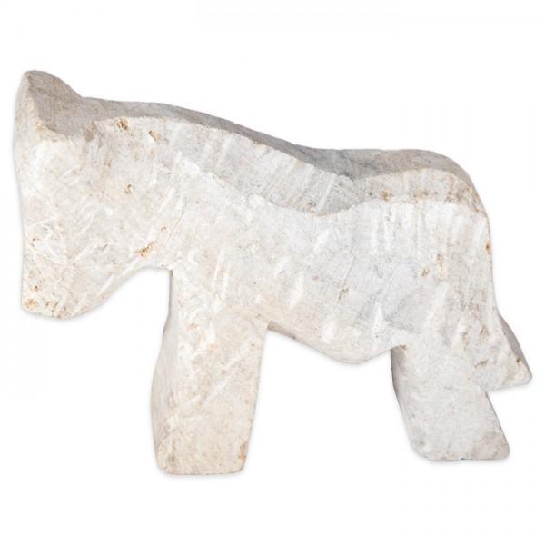 Speckstein-Rohling ca. 8-10cm Pferd Farbe zufällig