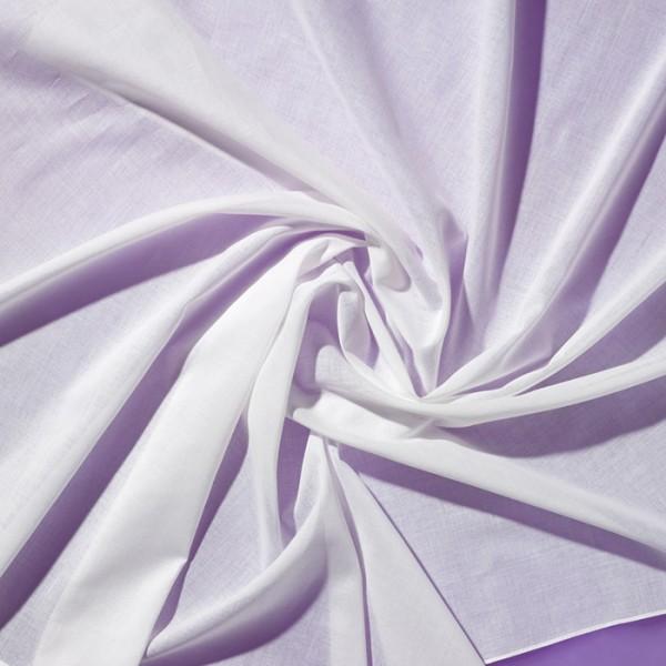Tuch Batist 55x55cm gebleicht 100% Baumwolle