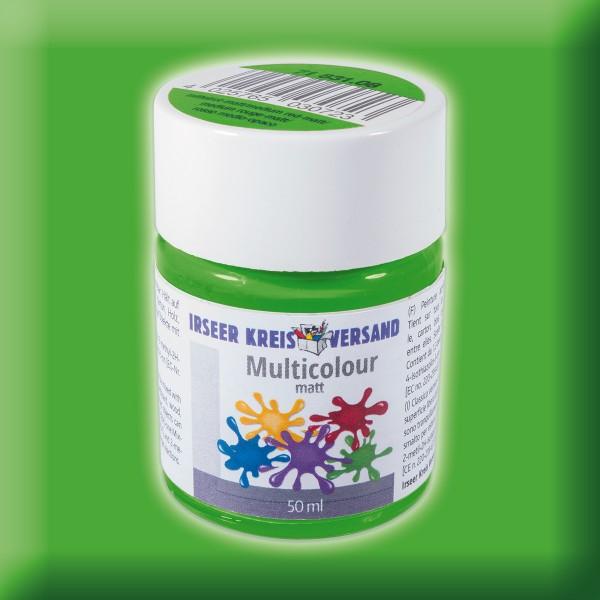 Acryl-Mattfarbe 50ml frühlingsgrün Multicolour Acryllack