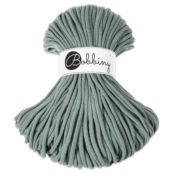 Bobbiny Rope-Garn Premium Ø5mm laurel ca. 400g-500g, 100% Baumwolle, LL 100m, Nadel Nr. 10-12