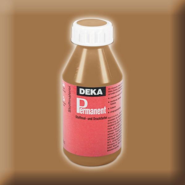 Deka-Permanent Stoffmalfarbe 125ml hellbraun