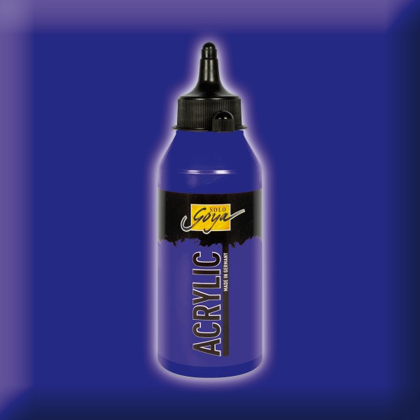 SOLO GOYA Acrylic 250ml violett Acrylfarbe