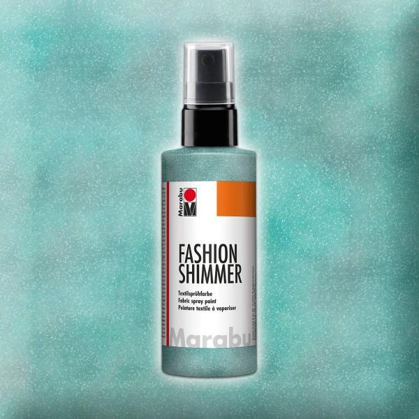 Marabu Fashion-Shimmer 100ml aquamarin Textilsprühfarbe