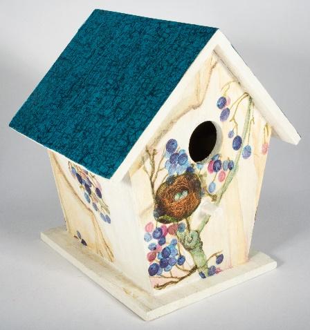 Hübsche Wohlfühlwohnung für Meisen und kleine Vögel