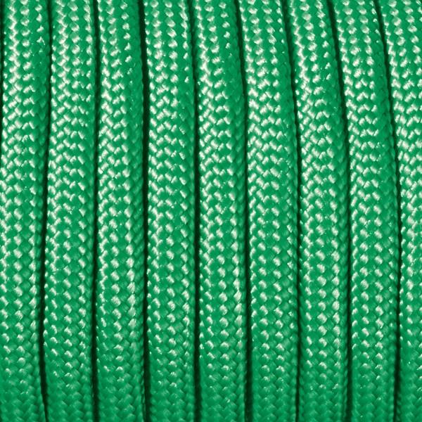 Paracord-Garn rund 2mm 50m grün Makramee-Knüpfgarn, 60% Polypropylen, 40% Polyester