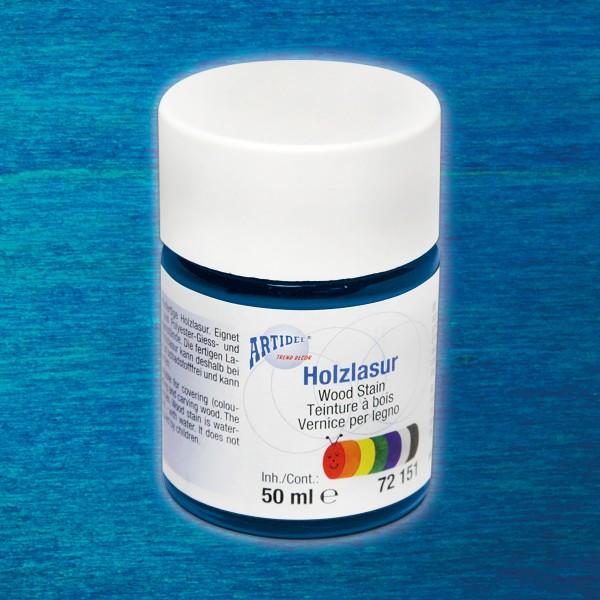 Holzlasur 50ml dunkelblau