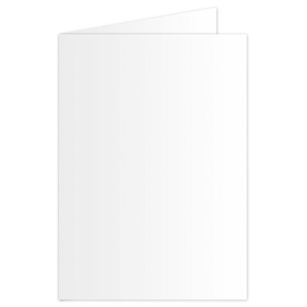 Brief- und Bastelkarten DIN A6 10 St. weiß inkl. Kuverts, 190g/m²