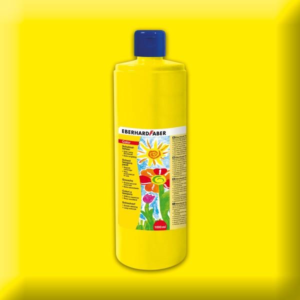 Color-Schulmalfarbe 1.000ml kadmiumgelb