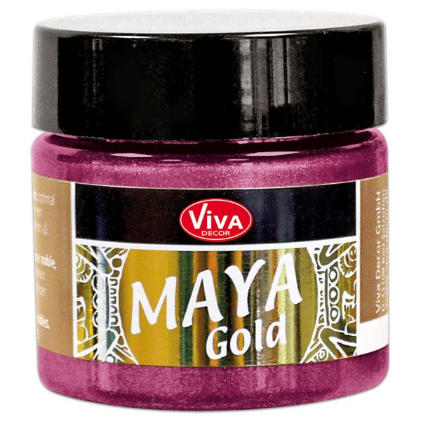 Maya-Gold Dekorfarbe flüssig 45ml magenta
