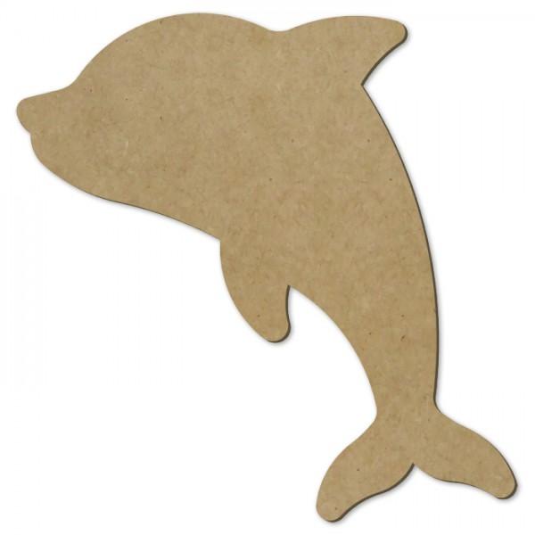 Delfin MDF 3mm ca. 48cm