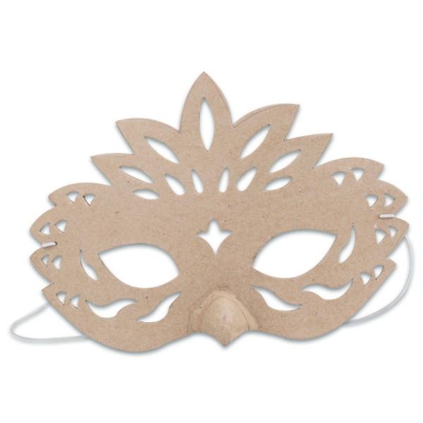 Maske Schnabel Pappe 15x21x5cm von Décopatch