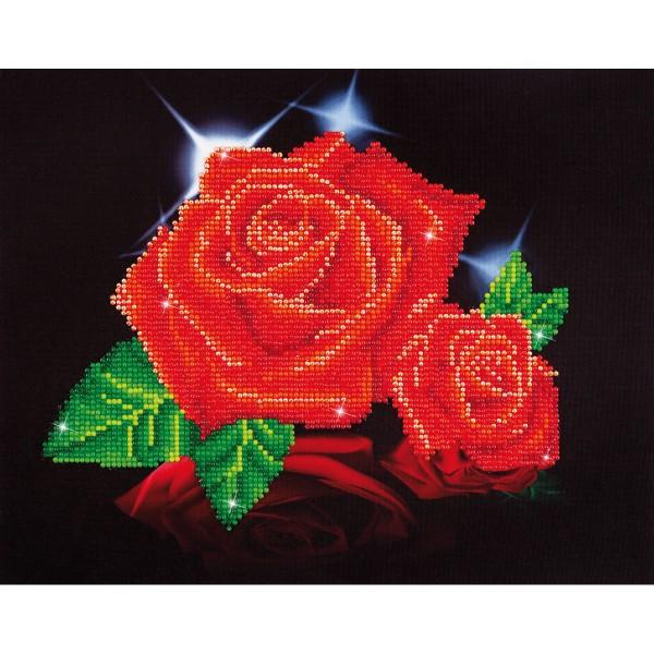Diamond Dotz 27,9x35,5cm Rote Rosen