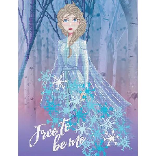 Diamond Dotz Disney Frozen II Free to be me 65x50cm