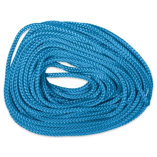 Paracord-Garn rund 3mm 10m blau Makramee-Knüpfgarn, Polypropylen