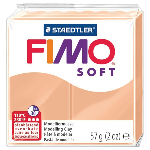 FIMO soft 55x55x15mm 57g haut ofenhärtende Modelliermasse