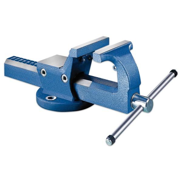 Schraubstock Stahl Spannweite 120mm Backen 120mm, 9,82kg