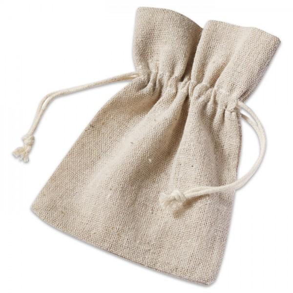 Leinen-Säckchen ca. 13x10cm 6 St. uni naturfarben 100% Polyester