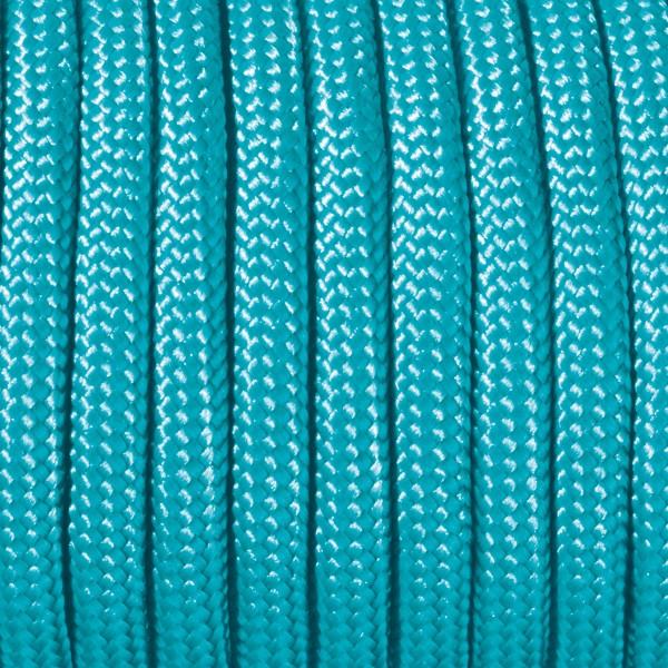 Paracord-Garn rund 2mm 4m türkis Makramee-Knüpfgarn, 60% Polypropylen, 40% Polyester