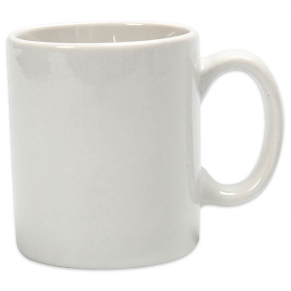 Tasse Porzellan Ø 6x7cm weiß