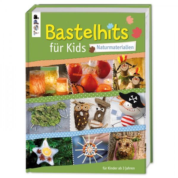 Buch - Bastelhits für Kids - Naturmaterial 160 Seiten, 21,2x27,2cm, Hardcover