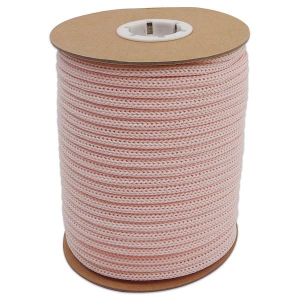 Makramee-Garn - Kordel aus Papier 4mm 30m hellrosa aus recyceltem Material