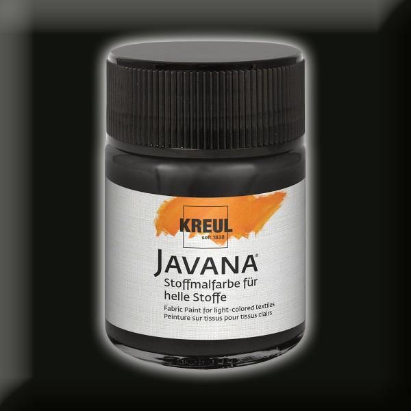 Javana Stoffmalfarbe helle Stoffe 50ml schwarz