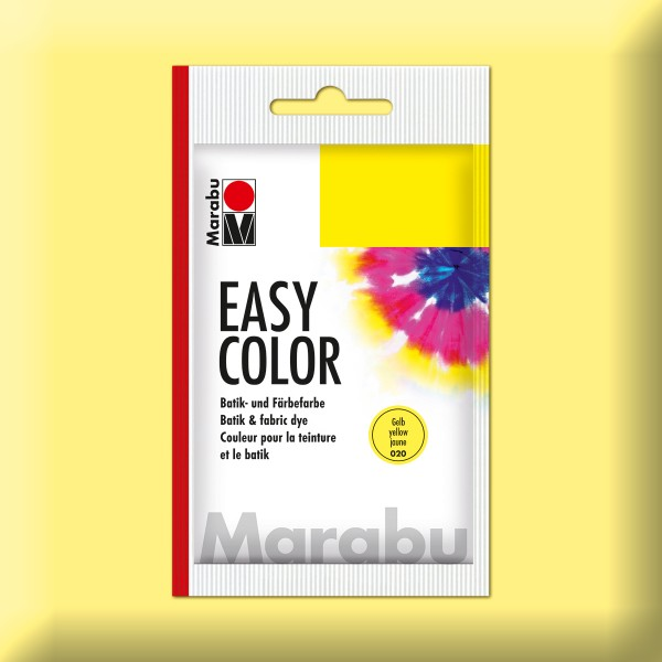 Marabu EasyColor Batik-/Textilfarbe 25g gelb