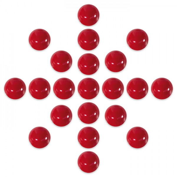 Perlenmaker-Pen 30ml Effekt rubin