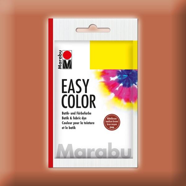Marabu EasyColor Batik-/Textilfarbe 25g mittelbraun