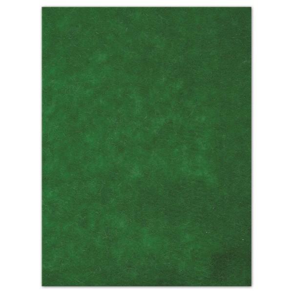 Wollfilz-Platte 4mm 30x40cm grün 70% Polyester, 30% Wolle