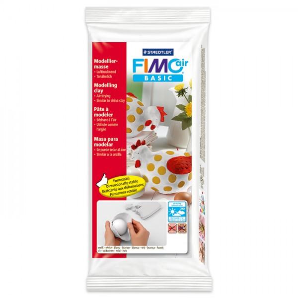 FIMO air basic 500g weiß lufthärtende Modelliermasse
