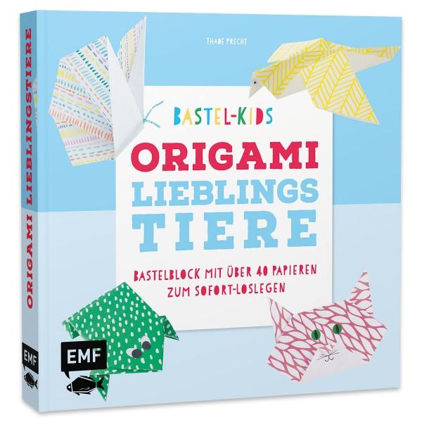 Buch - Bastelkids - Origami Lieblingstiere 128 Seiten, 20,7x20cm, Softcover