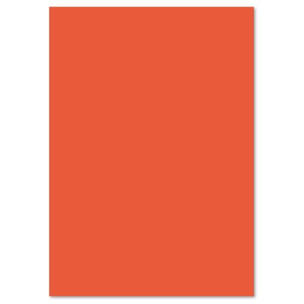 Tonpapier 130g/m² DIN A4 100 Bl. orange