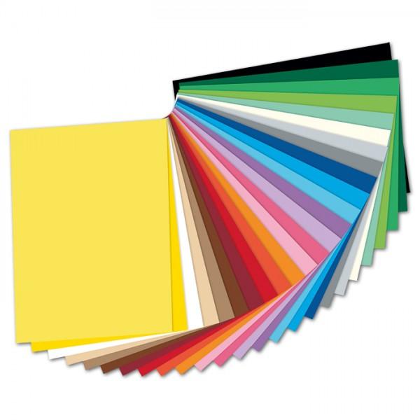 Fotokarton 300g/m² 25x35cm 25 Bl./Farben